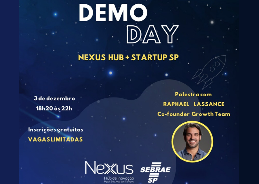 Eventos - Demoday do Nexus e Programa Startup-SP